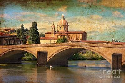 Ponte Alla Carraia Art Print