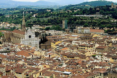 Photograph - Firenze -2 by Theresa Ramos-DuVon