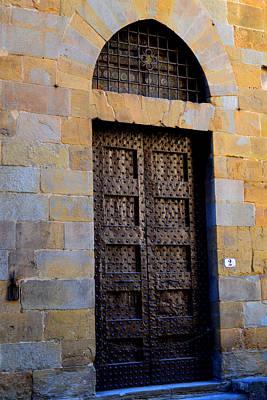 Firenze Ancient Door Art Print