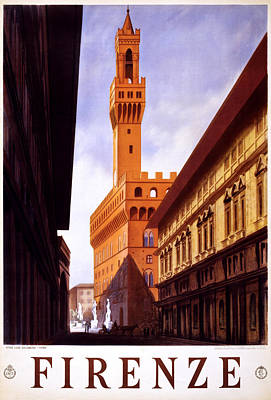 Firenze Italy Art Print by Georgia Fowler