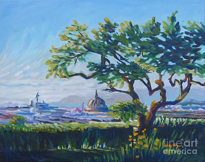 Bfa Painting - Firenze by Vanessa Hadady BFA MA