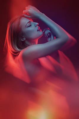 Model Photograph - Fireplace by Clovis Durand-moldawan