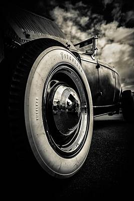 Firestone Ford Roadster Art Print by motography aka Phil Clark