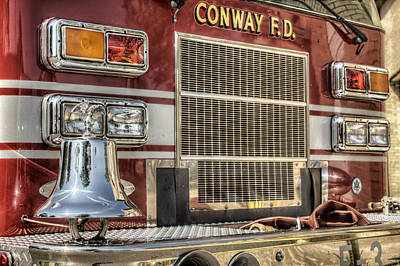 Photograph - Firetruck - Ring The Bell by Jason Politte
