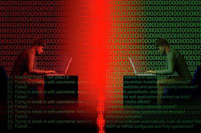 Terrorism Photograph - Firewall  by Carol & Mike Werner