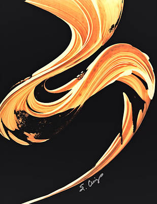 Painting - Firewater 7 - Abstract Art By Sharon Cummings by Sharon Cummings