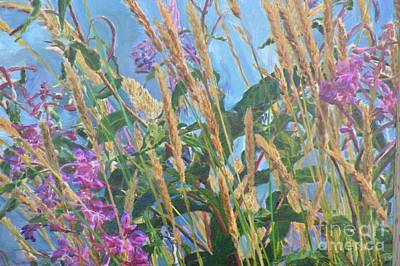 Photograph - Fireweed Number Six by Brian Boyle