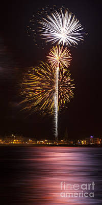 Texture Photograph - Firework 10 by Svetlana Sewell