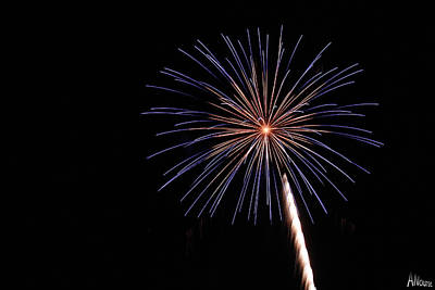 Forth Of July Photograph - Firework by Andrew Nourse