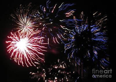 Photograph - Firework - Saint Denis - Ile De La Reunion - Reunin Island - Indian Ocean by Francoise Leandre