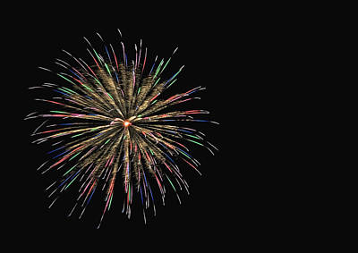 Photograph - Fireworks 1 by Staci Bigelow