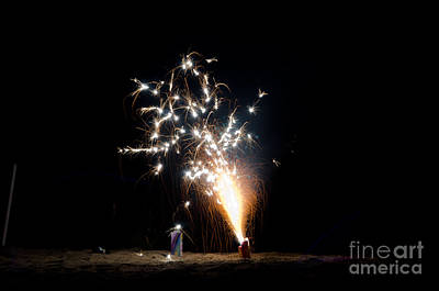 Fireworks 11 Print by Cassie Marie Photography