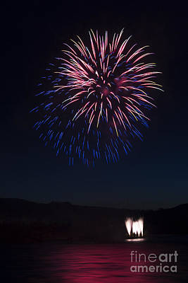 Photograph - Fireworks 14 by Sonya Lang