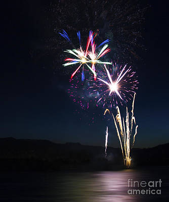 Photograph - Fireworks 15 by Sonya Lang