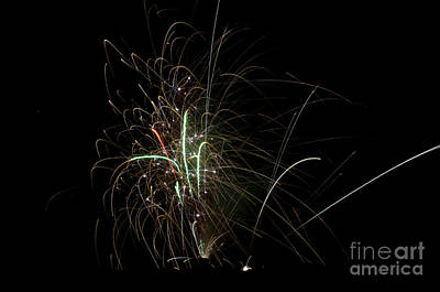 Fireworks 19 Print by Cassie Marie Photography