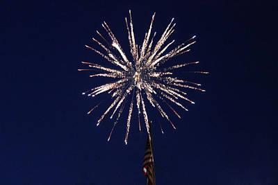 Photograph - Fireworks 2 by Christine Hafeman