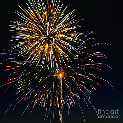 Photograph - Fireworks 2 by Sonya Lang