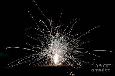 Fireworks 22 Print by Cassie Marie Photography