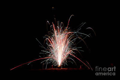 Fireworks 24 Print by Cassie Marie Photography