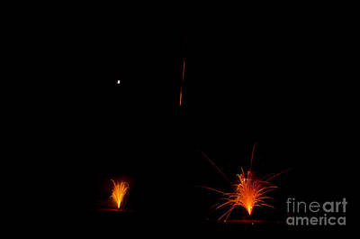 Fireworks 27 Print by Cassie Marie Photography