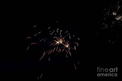 Fireworks 29 Print by Cassie Marie Photography