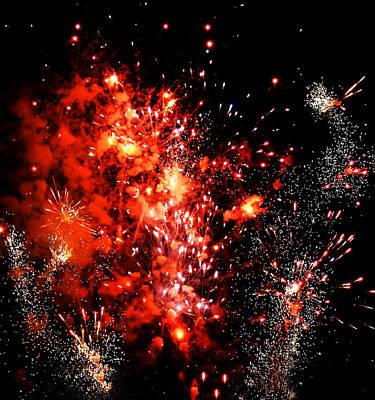 Photograph - Fireworks 3 by Kara  Stewart