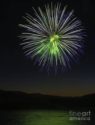 Photograph - Fireworks 3 by Sonya Lang