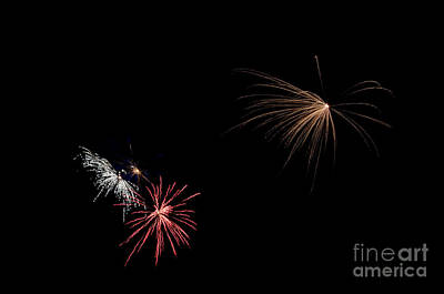 Fireworks 31 Print by Cassie Marie Photography
