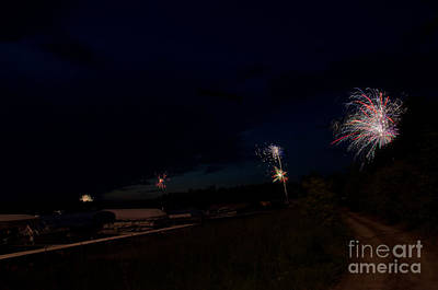 Fireworks 34 Print by Cassie Marie Photography