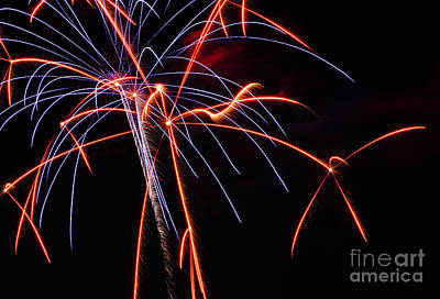 Photograph - Fireworks by Staci Bigelow