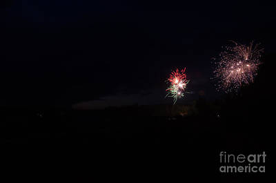 Fireworks 37 Print by Cassie Marie Photography
