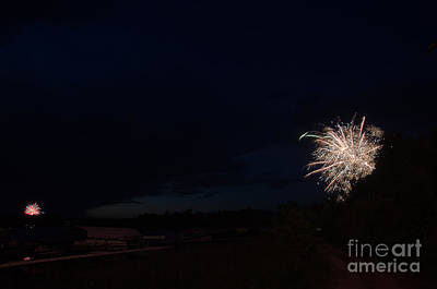 Fireworks 39 Print by Cassie Marie Photography