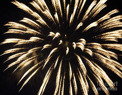 Photograph - Fireworks 4 by Leslie Cruz