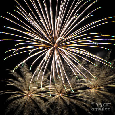Photograph - Fireworks 4 by Ronald Grogan