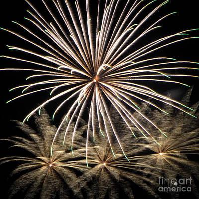 Photograph - Fireworks 4 by Ronald Grogan