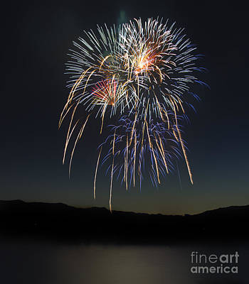Photograph - Fireworks 4 by Sonya Lang