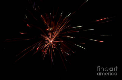 Fireworks 41 Print by Cassie Marie Photography