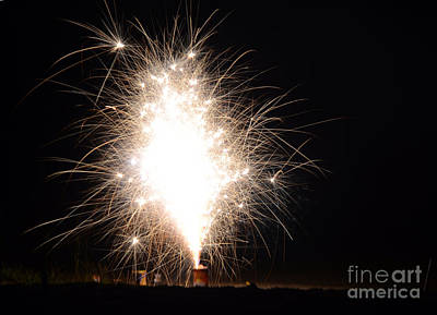 Fireworks 46 Print by Cassie Marie Photography