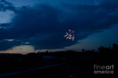 Fireworks 5 Print by Cassie Marie Photography