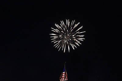 Photograph - Fireworks 5 by Christine Hafeman