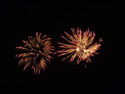 Photograph - Fireworks 5 by Gene Cyr