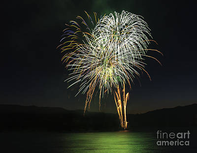 Photograph - Fireworks 5 by Sonya Lang