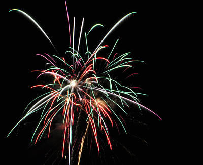 Photograph - Fireworks 5 by Staci Bigelow