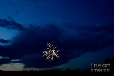 Fireworks 6 Print by Cassie Marie Photography