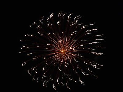 Photograph - Fireworks 6 by Gene Cyr