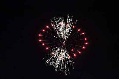 Photograph - Fireworks 7 by Christine Hafeman