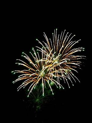 Photograph - Fireworks 8 by Mark Malitz