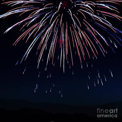 Photograph - Fireworks 9 by Sonya Lang