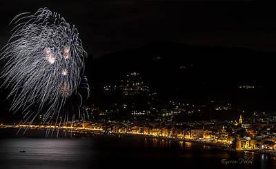 Photograph - Fireworks Alassio 2013 3580 - Ph Enrico Pelos by Enrico Pelos