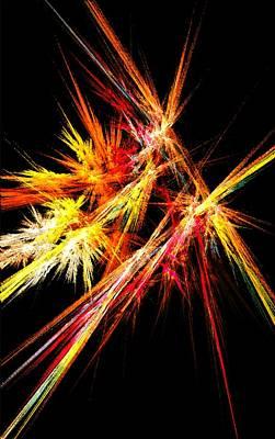 Fireworks Art Print by Anastasiya Malakhova
